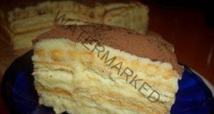"""Торта """"А ла Тирамису"""" - много вкусна и лесна за приготвяне!"""