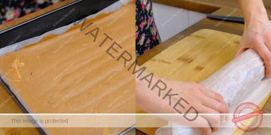 рецепта за домашно пандишпаново руло