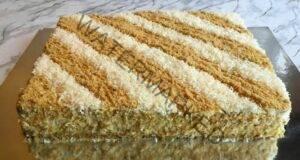 Вълшебна торта с бисквити без печене. Запишете си рецептата!
