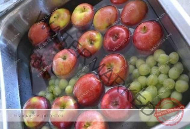 Ето как да се отървете от пестицидите в плодовете и зеленчуците