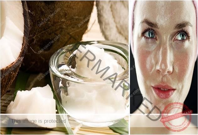 За опъната и еластична кожа, мийте лицето си с кокосово масло!