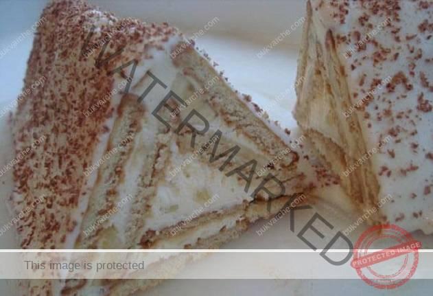Пригответе си торта с крема сирене без печене, готова за 30 минути!