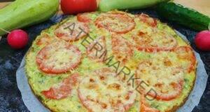 Пригответе тиквичките по нов начин: под формата на вкусна пица