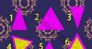 """Психологическият тест """"триъгълник"""" разкрива каква личност сте"""
