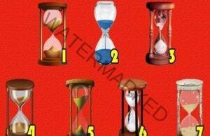 Изберете пясъчен часовник и получете своето послание!