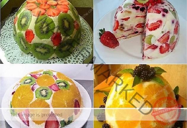 Много вкусна и лесна плодова торта без печене - истинска наслада