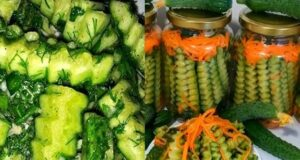 Салата от краставички и моркови за зимата - ето как да я приготвите