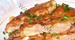 Сочни пилешки дробчета в сметанов сос с чесън