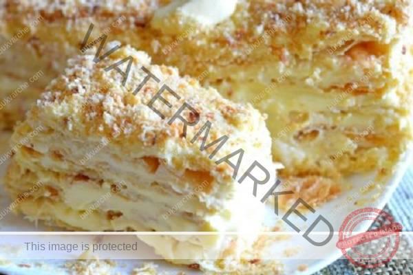 """Страхотна рецепта за торта """"Наполеон"""" от моята баба"""