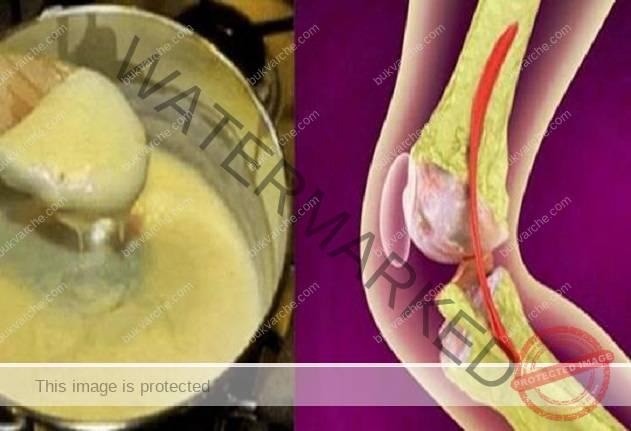 Тази рецепта лекува коленете и незабавно възстановява костите