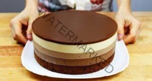 Торта с вкус на шоколадов сладолед! Перфектна е за лятото!
