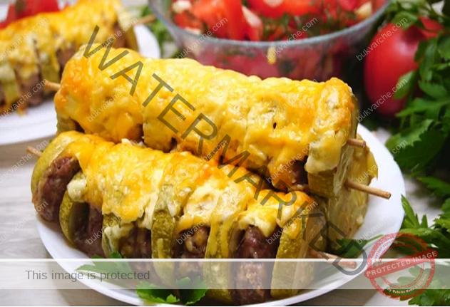 Шишчета от тиквички: наслада за любителите на този зеленчук