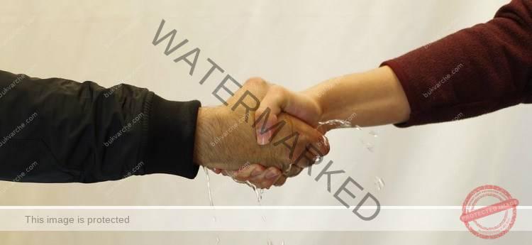 Ръкостискането