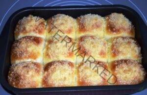 Бухтички от тесто, нежно като пух, и със сладка плънка!