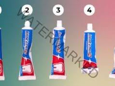 Как изглежда вашата тубичка с паста за зъби? Ето какво значи това!