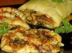 Картофено руло с гъби на фурна: Голяма вкусотия!