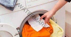 Мокра кърпичка по време на прането на дрехите: полезен съвет