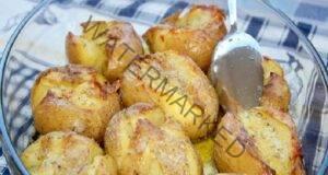 Оригинална рецепта за печени картофи - много вкусни