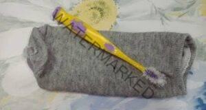 От старите чорапи си направете практична вещ за дома