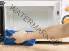 Почистване на микровълнова печка по мързелив начин и без препарат