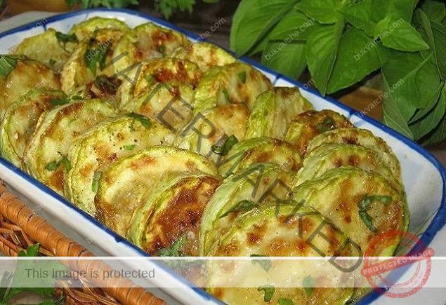 Пържени тиквички с оцет и чесън - любима рецепта