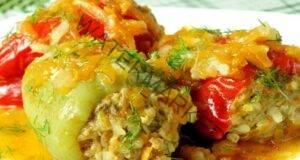 Тайната за вкусните пълнени чушки с ориз и кайма