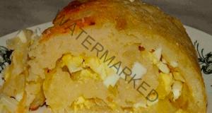 Картофено руло с яйца и лук - още едно любимо ястие