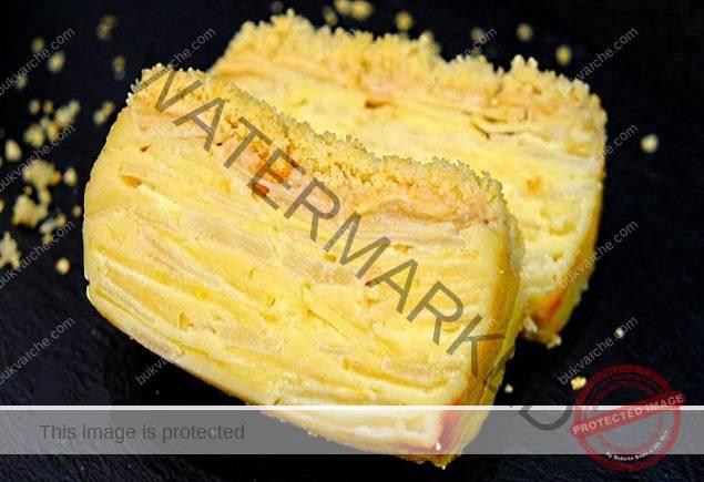 Пай с ябълки и круши - голямо количество пълнеж и малко тесто