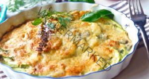 Пикантна запеканка от тиквички - вкусна и засищаща рецепта
