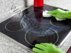 Почистване на стъклокерамичния котлон до блясък