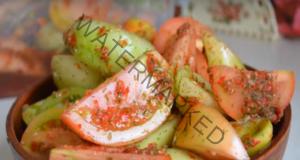 Туршия с домати и чушки - готови само за 3 дни