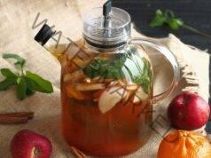 Чай от ябълкови кори и канела помага при подут корем