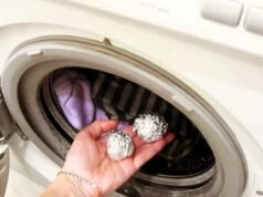 Алуминиевото фолио премахва статичното електричество от дрехите
