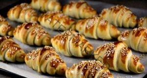 Домашни кифлички със сирене и шунка: Страхотна закуска за уикенда