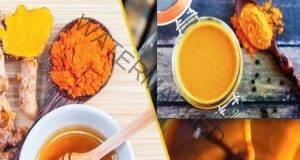 Комбинация от мед и куркума за лечение на рака