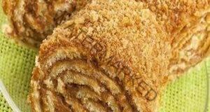 Медено руло с орехи и невероятен аромат - страхотна идея за десерт