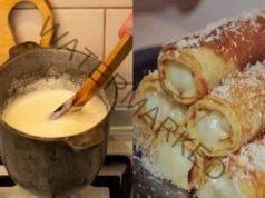 Палачинки с яйчен крем - едно наистина изискано ястие