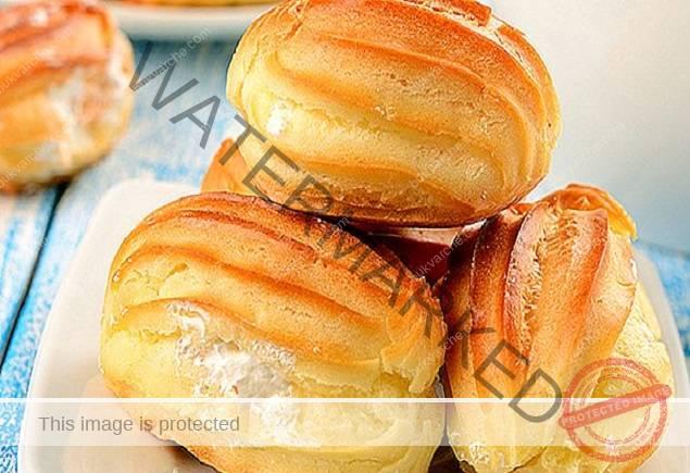 Парено тесто за приготвяне на най-вкусните еклери