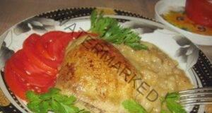 Пиле с ябълки - необичайна, но вкусна рецепта