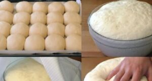 Рецепта за тесто без мляко и яйца - идеално за кифлички и пица