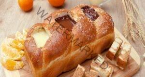 Рецепта за хляб с три вида шоколад - една вкусна закуска