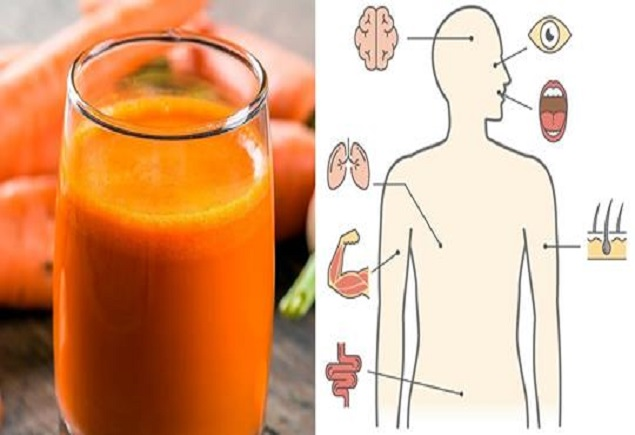 Сокът от моркови подобрява мозъчната функция
