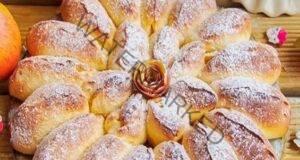 Ябълков пай с канела - ароматно и красиво печиво