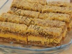 Домашен сладкиш с пълнеж - направо се топи в устата