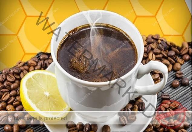Кафе с мед и лимон -