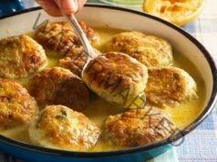 Кюфтета в сос бешамел - страхотна идея за вкусен обяд