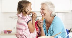 Обичта на бабата е една от най-важните в живота на детето
