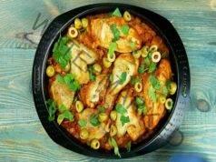Пилешка яхния по испански - вкусна идея за обяд