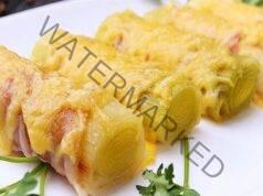 Праз лук в бекон - лесна рецепта за празничната трапеза