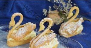 Рецепта за еклери с форма на лебеди - много красиви